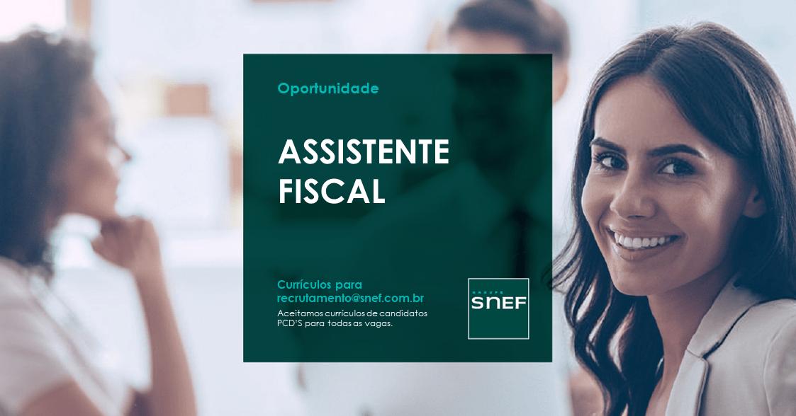 Assistente Fiscal - Camila