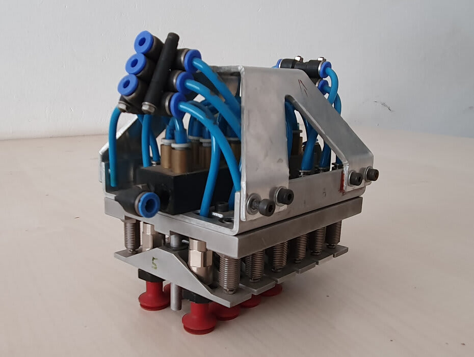 Figura 3 Controle de OEE de uma célula robotizada