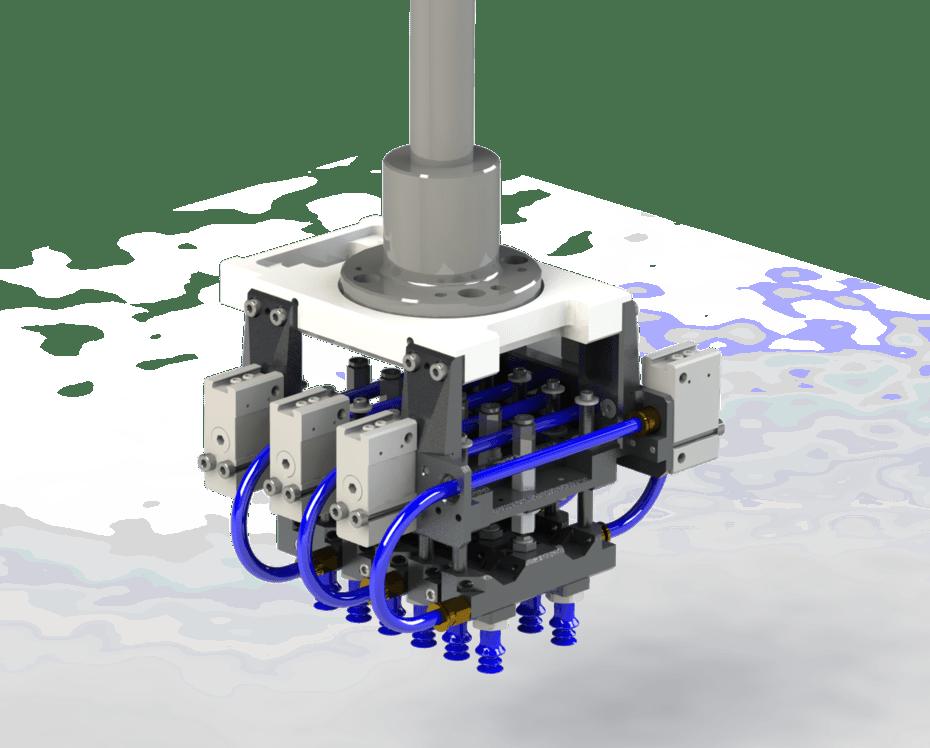 Figura 2 - Controle de OEE de uma célula robotizada